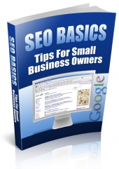 SEO Basics - Tips For Small Business Owners eBook with Private Label Rights