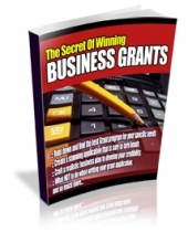 The Secrets Of Winning Business Grants eBook with Private Label Rights