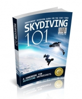 Skydiving 101 eBook with private label rights