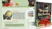 Organic Gardening Themes Pack Template with private label rights
