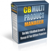 Clickbank Multi Product Manager Software with Master Resale Rights