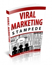 Viral Marketing Stampede PLR eBook with Private Label Rights