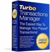 Turbo Transactions Manager Software with Resale Rights