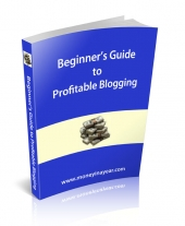 Beginner's Guide To Profitable Blogging eBook with Resale Rights