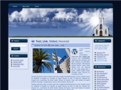 Church Theme 01 Template with Master Resale Rights