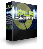 PLR Audio Clips Video with Private Label Rights