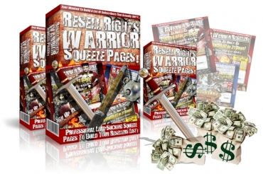 Resell Rights Warrior Squeeze Pages!