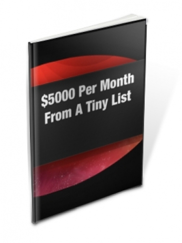 $5,000 Per Month From A Tiny List