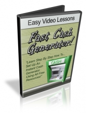 Fast Cash Generator! Video with Personal Use Rights