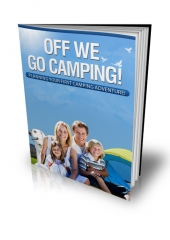Off We Go Camping! eBook with private label rights