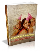 The Party Planner eBook with private label rights