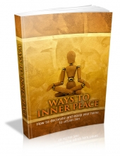 Ways To Inner Peace eBook with private label rights