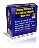 Jimmy D. Brown's Marketing Secrets Revealed eBook with Resell Rights