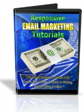 Responsive Email Marketing Tutorials Video with Master Resale Rights