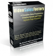 Video Sales Factory Software with Resale Rights