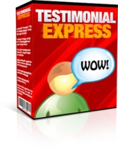 Testimonial Express Software with Master Resale Rights