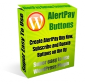 AlertPay Buttons Plugin Software with Master Resale Rights