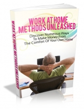 Work At Home Methods Unleashed eBook with Master Resale Rights