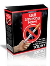 Quit Smoking Now! Software with Master Resale Rights