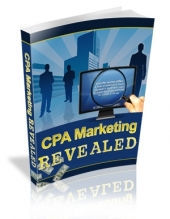 CPA Marketing Revealed eBook with Private Label Rights