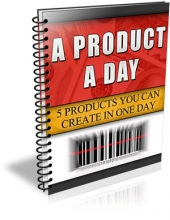 A Product A Day eBook with Master Resale Rights