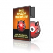 Evil Article Marketing Video with Master Resale Rights