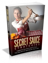 Secret Sauce Strategies eBook with Private Label Rights