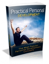 Practical Personal Development eBook with Private Label Rights