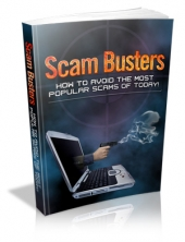 Scam Busters eBook with Private Label Rights