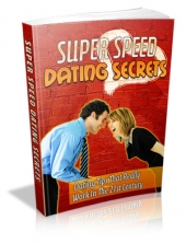 Super Speed Dating Secrets eBook with Private Label Rights