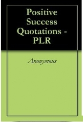 Positive Success Quotations Gold Article with Private Label Rights