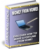Money From Home eBook with Resell Rights