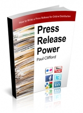 Press Release Power eBook with private label rights