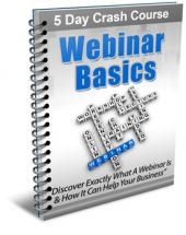 Webinar Basics eBook with Private Label Rights