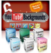 6 PLR YouTube Backgrounds Graphic with Private Label Rights