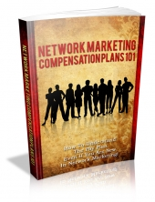 Network Marketing Compensation Plans 101 eBook with private label rights