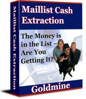 Maillist Cash Extraction eBook with Private Label Rights