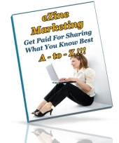 eZine Marketing A - To - Z!!! eBook with private label rights
