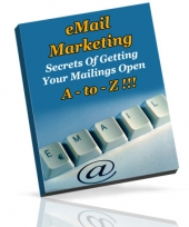 Email Marketing A - To - Z!!! eBook with Private Label Rights