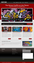 Graffiare WP Theme Template with Master Resale Rights