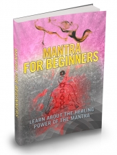 Mantra For Beginners eBook with private label rights