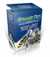 Spinner Pro Software Suite Software with Master Resale Rights