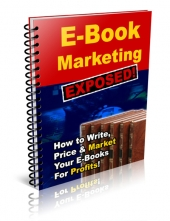 E-Book Marketing Exposed eBook with Private Label Rights