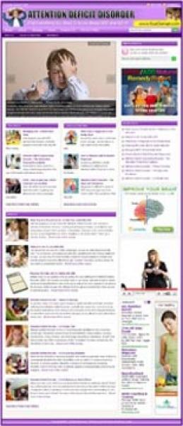 Attention Deficit Disorder Website