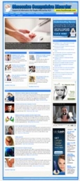 Obsessive Compulsive Disorder Website Template with private label rights