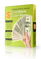Clickbank Cash Raider Software with Master Resale Rights