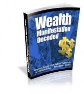 Wealth Manifestation Decoded eBook with Private Label Rights