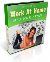 Work At Home For Maximum Profit eBook with Private Label Rights