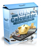 Loan Calculator Software with private label rights