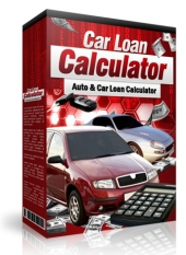 Car Loan Calculator Software with private label rights